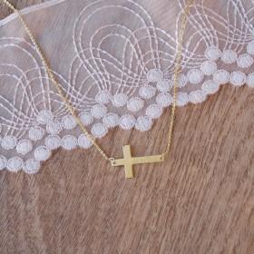 Pozdĺžny krížik s menom