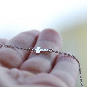 Pozdĺžny mini krížik s menom