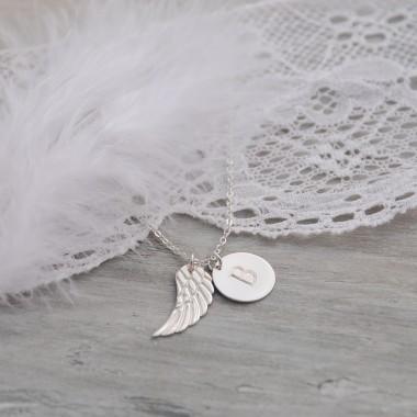Disk s anjelským krídlom