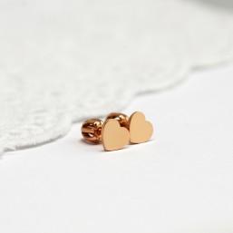 Mini srdiečka - hrubší materiál